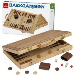 Backgammon legno Dal Negro