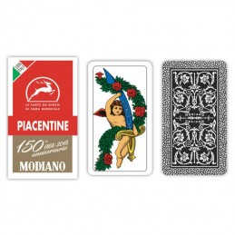 Carte Piacentine 150°...