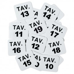 NUMBERS for gaming TABLES...