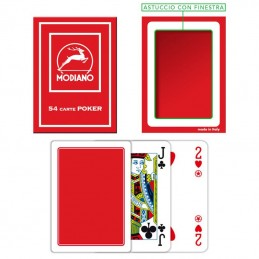 Carte Burraco F/N Rosso...