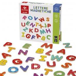 Lettere magnetiche 77 pz....
