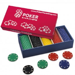 Set 125 Chips Poker 11.5 gr...