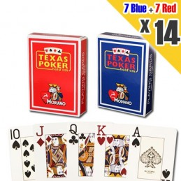 14x Carte MODIANO Poker...