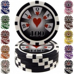 Fiches / Chips Poker ROYAL 14 gr - Valore 100